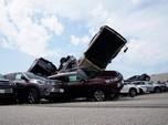 Astaga! Badai Tornado Hempaskan Puluhan Mobil Toyota