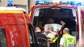 Prancis sendiri masih berada dalam siaga tinggi usai serangkaian serangan teror yang secara keseluruhan sudah merenggut 250 nyawa sejak 2015 lalu. (AFP Photo/Philippe Desmazes)