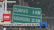 VIDEO: Rute Mudik Alternatif di Jalur Selatan