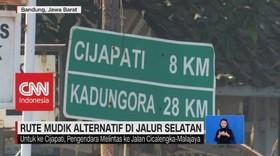 VIDEO: Rute Mudik Alternatif di Jalur Selatan