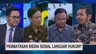 VIDEO: Pembatasan Media Sosial Langgar Hukum? (3/3)