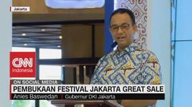 VIDEO: Gubernur Anies Resmi Buka Festival Jakarta Great Sale