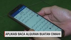 VIDEO: Aplikasi Baca Alquran Buatan Cimahi