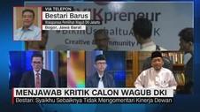 VIDEO: Menjawab Kritik Calon Wagub DKI (1/3)