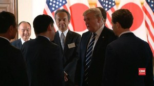 VIDEO: Trump Ingin Perbaiki Hubungan Dagang dengan Jepang