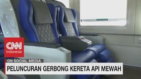VIDEO: PT. Kai Daop 8 Surabaya Luncurkan Gerbong Ka Gajayana