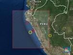 Gempa Dahsyat 8,0 M Landa Utara Peru, tak Berpotensi Tsunami
