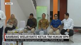 VIDEO: Alasan Prabowo Sandi Pilih BW Jadi Ketua Tim Hukum