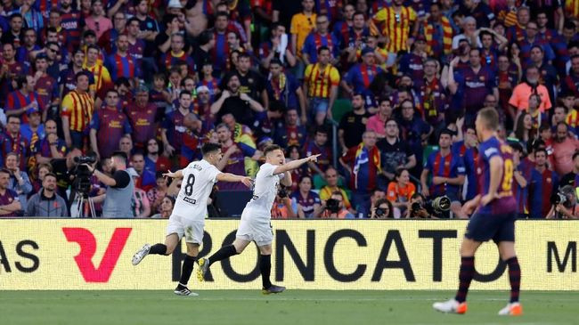 Babak I Copa del Rey: Barcelona Tertinggal 0-2 dari Valencia