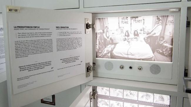 Kamar 1742 di hotel The Queen Elizabeth di Montreal menjadi saksi kemesraan pasangan John Lennon dan Yoko Ono. (Sebastien St-Jean / AFP)