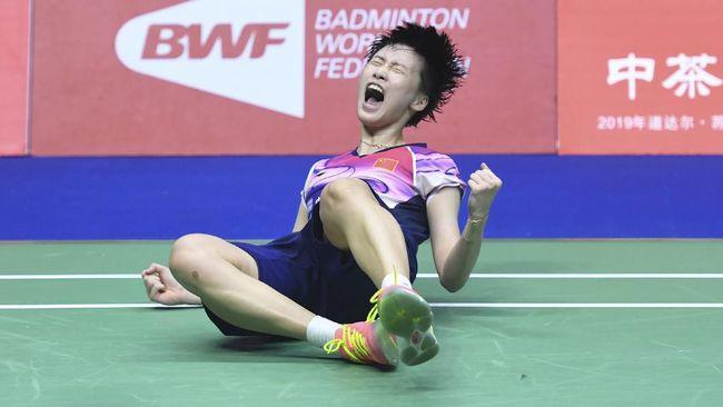Kalahkan Jepang, China Juara Piala Sudirman 2019