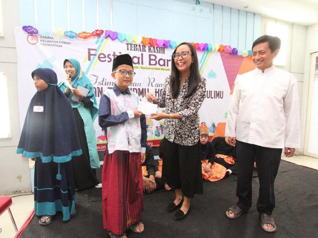 Hal itu guna mendukung penyediaan nutrisi harian dan pemenuhan fasilitas pendukung bagi anak anak Rumah Autis se Jakarta, Bogor, Depok, Tangerang dan Bekasi (Jabodetabek).
