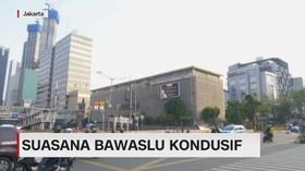 VIDEO: Suasana Bawaslu Kondusif