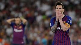 Mayoritas Harga Pemain Barcelona Turun, Termasuk Messi