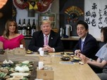 Bertemu Abe, Trump Terus Tekan Jepang Turunkan Selisih Dagang