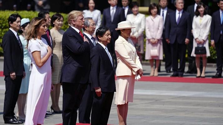 Mengintip Pertemuan Spesial Trump & Kaisar Baru Jepang