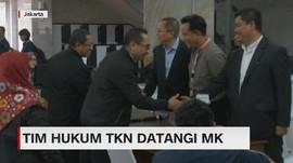 VIDEO: Tim Hukum TKN Datangi MK