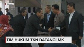 VIDEO: Tim Hukum TKN Datangi MK