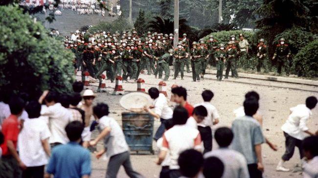 China Sebut Gempuran Tiananmen 30 Tahun Lalu Tindakan Tepat