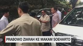 VIDEO: Prabowo Ziarah ke Makam Soeharto