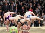 Kandang Sumo Jepang Diserang Corona, 19 Positif