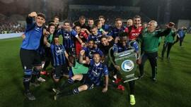 FOTO: Inter dan Atalanta Raih Tiket Terakhir Liga Champions