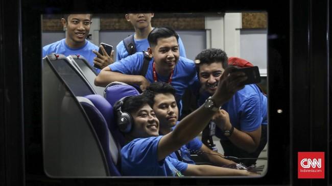 Kereta Luxury 2 dirangkaikan pada KA Argo Lawu rute Gambir-Solo Balapan pulang pergi (PP), dan KA Argo Dwipangga rute Gambir-Solo Balapan PP. (CNN Indonesia/ Hesti Rika)