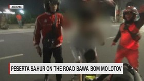 VIDEO: Peserta Sahur on The Road Bawa Bom Molotov
