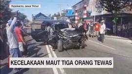 VIDEO: Kecelakaan Maut Tiga Orang Tewas