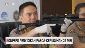 VIDEO: Polisi Rilis Senjata-senjata & Rompi Anti Peluru