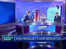 IHSG Menguat, Dana Asing  Masuk Rp 490 Miliar