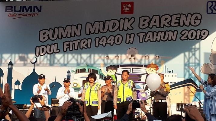 170 Bus Angkut Nasabah BRI Mudik Lebaran