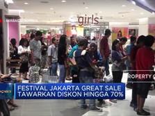 Pesta Diskon di Jakarta Great Sale