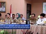 Jokowi Terbitkan Keppres Cuti Bersama PNS