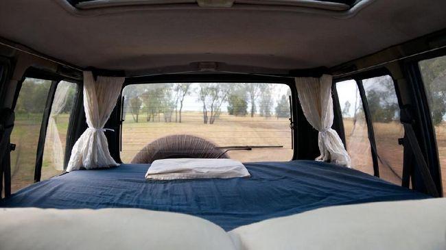 Kemenhub Kaji Modifikasi Mobil Jadi 'Tempat Tidur Berjalan'