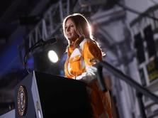 Lagi Pidato Soal Bahaya Narkoba, Melania Trump Malah Disoraki