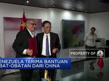 Venezuela Terima Bantuan Obat dari China