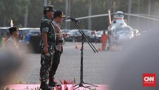 Panglima TNI-Kapolri Mulai Berkantor di Makodam Cenderawasih