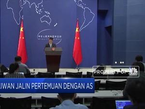 Taiwan Jalin Pertemuan dengan AS