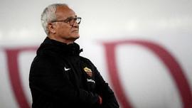 Ranieri Menangis di Laga Perpisahan dengan AS Roma