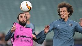 Alasan Higuain dan Luiz Ribut Jelang Final Liga Europa