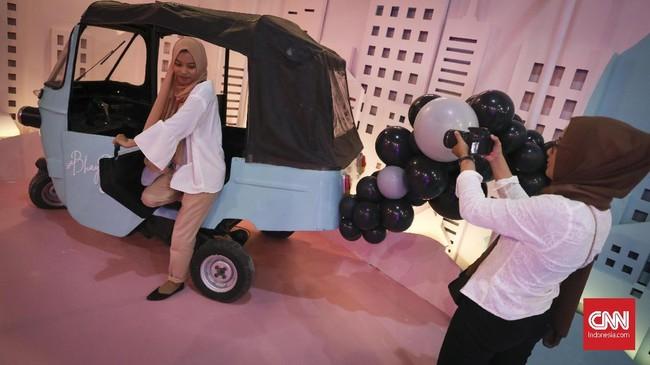 Baluun by Haluu berlangsung di Plaza Indonesia, The Warehouse level 5 mulai tanggal 30 Mei hingga 25 Agustus 2019. (CNN Indonesia/ Hesti Rika)