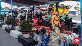 96 Ribu Orang Masuk Jakarta Saat Idul Fitri