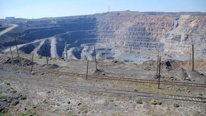 Tambang Tanah Jarang (Rare Earth) di China. (Foto: CNBC)