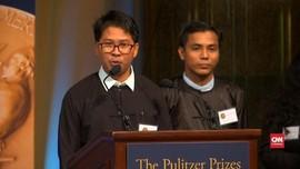 VIDEO: Bebas, Dua Jurnalis Peliput Rohingya Terima Pulitzer