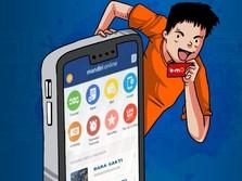 Nasabah Mandiri Online Tembus 5 Juta & Transaksi Rp 230 T