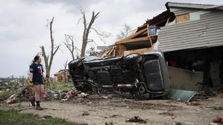 Tornado di Amerika Serikat Renggut Nyawa 25 Orang