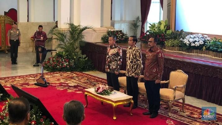 Jokowi Bangga 3 Tahun Berturut-turut Dapat Rapor Keuangan WTP