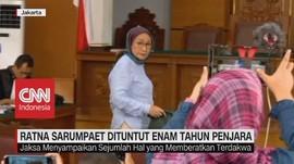 VIDEO: Ratna Sarumpaet Dituntut 6 tahun Penjara