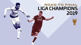 INFOGRAFIS: Road to Final Liga Champions 2019
